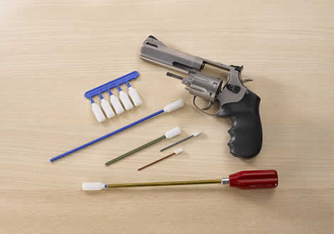 revolver cleaning